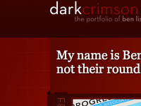 dark crimson 2008 site render