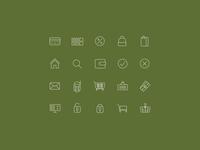 Online Store Icon Set