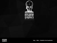Minimal Dark - Single page template
