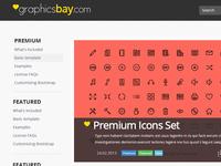GraphicsBay - Freebies Website