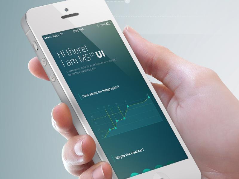 Freebie! Planner & Meteo UI Kit for iPhone ui kit ui design ui iphone psd ui free ui freebie ui kit mobile kit ui