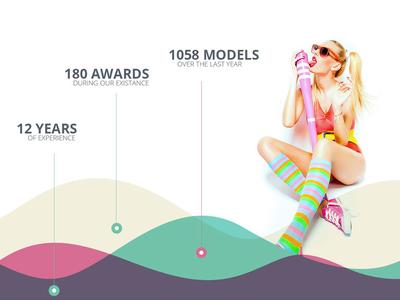 Single Page Fashion Template ( Freebie )