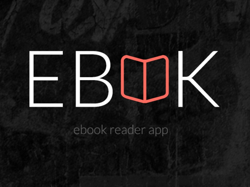 Ebook Reader App Design  reader app design ebook ios android free psd retina screens download