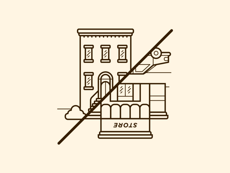 Freixenet Store Finder Illustration - Attempt I illustrator cc vector art icon design illustration