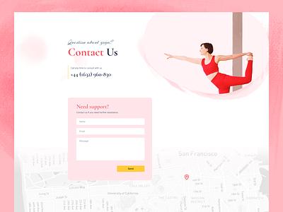The Yoga School Layout yoga joomla layout joomshaper sp page builder pro yoga school