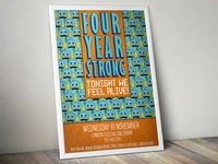 Four Year Strong Gig Poster
