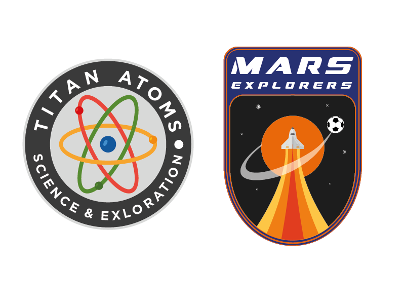 Solar Olympic Team Logos space solar olympics mars logo futuristic color branding