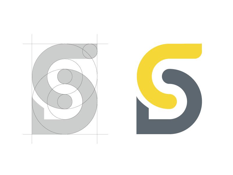 Personal Logo Crafting form construction circles symmetry logo crafting logo design
