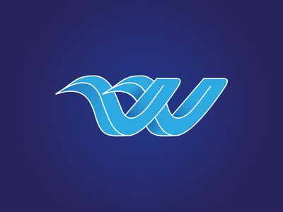W // Water Sports Logo Concept