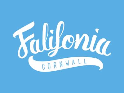 Falifornia // Brush Lettering