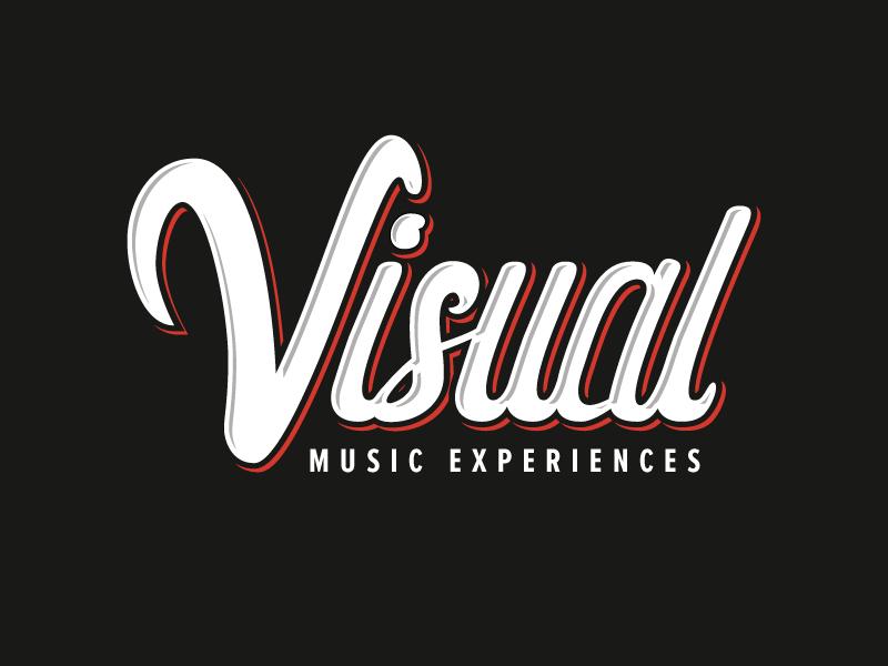 Visual // Logotype brush lettering logotype script type lettering brush typography design logo branding