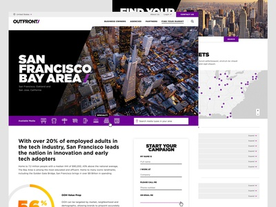 Outfront Website Redesign