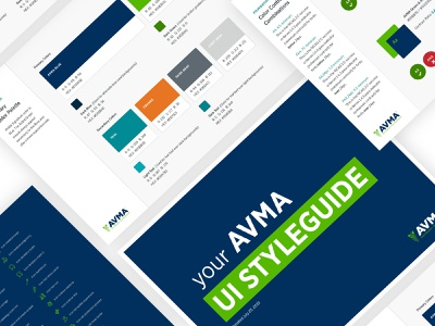 UI Style Guide identity typography color palette redesign ui brand design brand style guide
