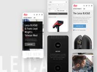 Leica Mobile UI