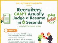 [Infographic] 6 Second Resume Challenge Results