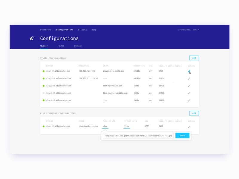 Atlas17 Dashboard dashboard monospace interface stats data form web ui