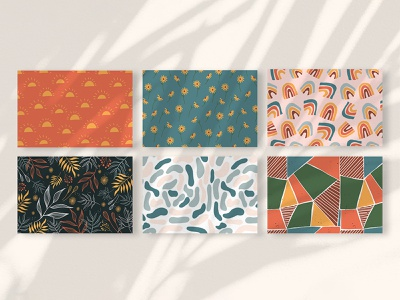 Seamless pattern backgrounds abstract simple vector flat art colorful doodle artwork cute drawing illustration architecture rainbow vintage retro enless repeat background pattern seamless