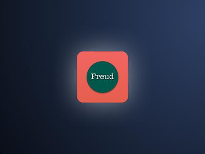 Freud logo app icon debut freud