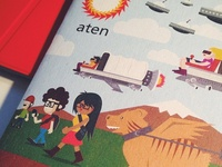 Aten Scout Book Printed