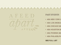 A Feed Apart Footer