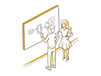 Education Experts Illustration