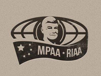 A logo for a campaign against SOPA logo chris dodd sopa