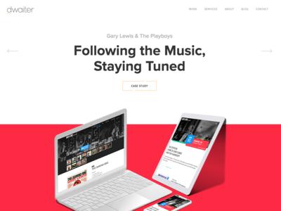 New Homepage Hero!