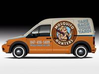 Mosquito Hunters Van Wrap