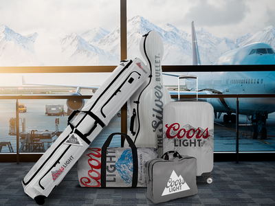 Coors Light Luggage coors beer luggage