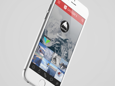 App in the Works app snowboard