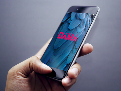 Dama Splash Screen app design app splash screen