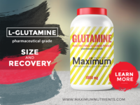 Maximum Nutrients Packaging Design