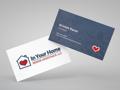 In Your Home Biz Card businesscard logo