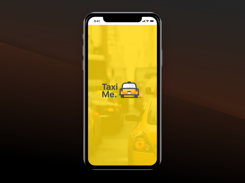 Taxi Me. principle app animation