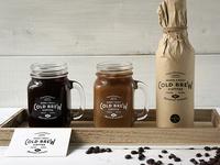 Cold Brew Coffee PSD Mockups