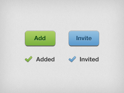 Button States button ui iphone