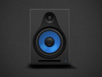 Studio Speaker Showcase icon speaker illustration