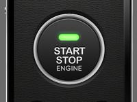 iPhone Car Starter Interface