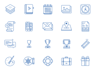 ActiveCampaign 128px Icons sketch vector illustration icons