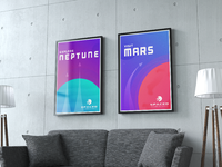 Space postermockups