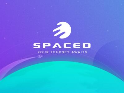 Spaced Logo Challenge poster illustration brand challenge logo spaced