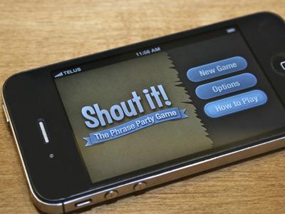 Shout It! Promo Mockup