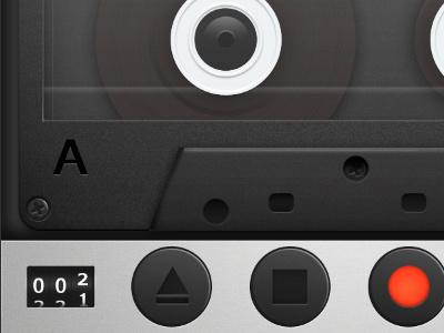 Cassette Recorder Preview iphone cassette ui