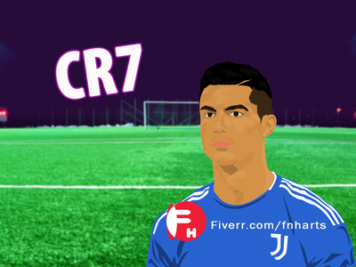 CR7 - Cartoon Portrait Design pokemon cartoon cartoon 2d designer cartoon design cartoon portrait character cartoon character cartoon family cartoon portrait fiverpro fiverrseller fiverr cr7 boyfriend design logo animation vector illustration cartoonportraitdesign cartoonportrait caricature