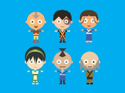 Avatar: The Last Airbender Characters