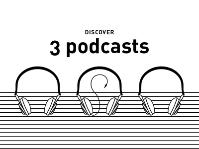 3 podcasts.