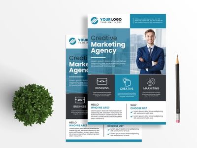 Corporate Flyer Design Template leaflet corporate business illustration vector template flyer design corporate flyer branding graphic design logo motion graphics animation ui