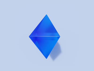 Simple 3D Animation blender geometric 3d animation polkamarkets crypto
