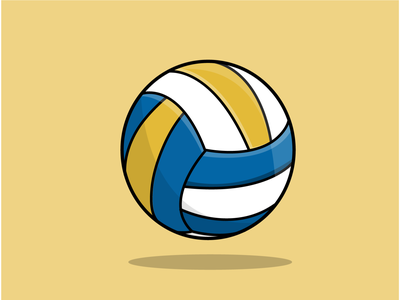 VOLLEYBALL logo vector illustrator design illustration