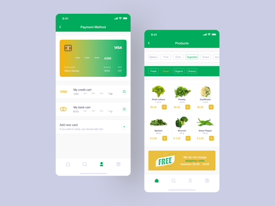 Food Delivery App order credit card delivery shopping android ios app mobile design mobile app mobile ui mobile ux design ui design design ux ui